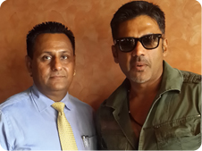 Suniel Shetty at HM North Park.
